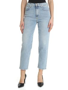 7 For All Mankind - Malia light-blue jeans