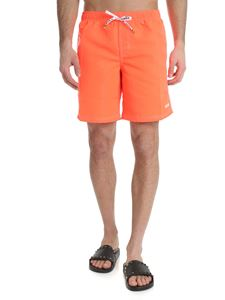 MSGM - Sundek neon orange swimsuit New Recharge