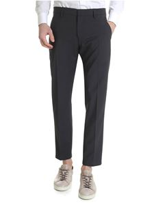 Dondup - Alfredo trousers in grey stretch wool