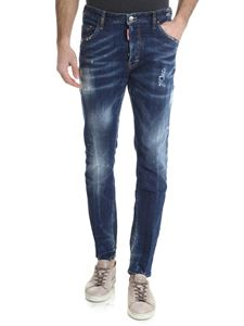 Dsquared2 - Skater jeans with vintage effect