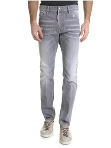 Dsquared2 - Jeans Cool Guy grigio con sfumature