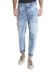Dsquared2 - 80's washed blue jeans