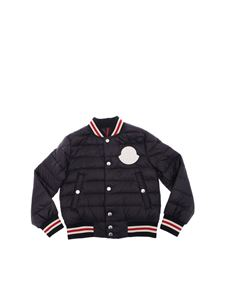 Moncler Jr - New Corbiac blue down jacket