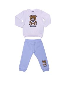 Moschino Kids - Teddy Toy cotton baby tracksuit