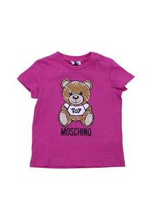 Moschino Kids - Moschino Toy t-shirt in fuchsia cotton