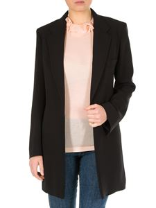 Chloé - Black jacket with adjustable belt