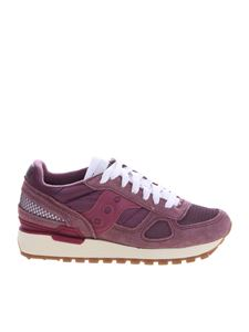 Saucony - Shadow Original sneakers in red-purple color
