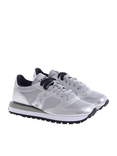 size 40 41086 cd5a6 Saucony Jazz O' sneakers in silver color