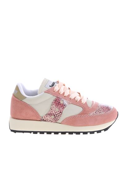 new style fec47 3be0b Jazz O' Vintage Saucony sneakers in pink