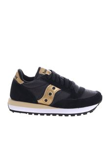 Saucony - Jazz O' Saucony sneakers in black and gold