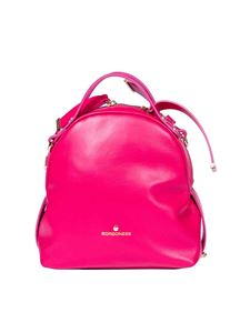 Borbonese - Fuchsia backpack in leather