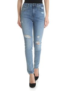 Levi's - 721 High-Rise Skinny jeans in light blue