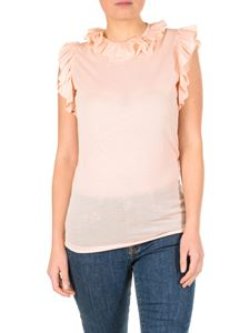 Dsquared2 - Pink ruffled top