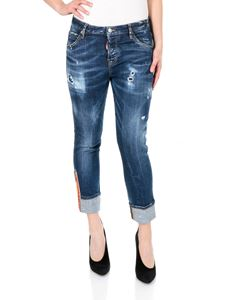Dsquared2 - Medium Easy Super Skinny Cropped Jeans
