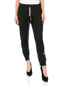 Dsquared2 - Black trousers with logo