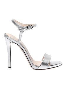 Marc Ellis - Silver ankle strap sandals