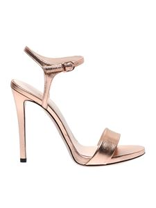 Marc Ellis - Laminated pink ankle strap sandals