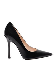 Marc Ellis - Black pointy pumps in patent leather