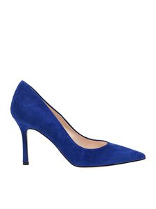Marc Ellis - Pointy pumps in blue suede