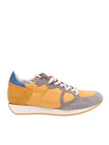 Philippe Model - Monaco Vintage sneakers in yellow