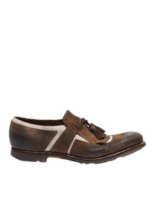 Church's - Shanghai loafers in brown suede