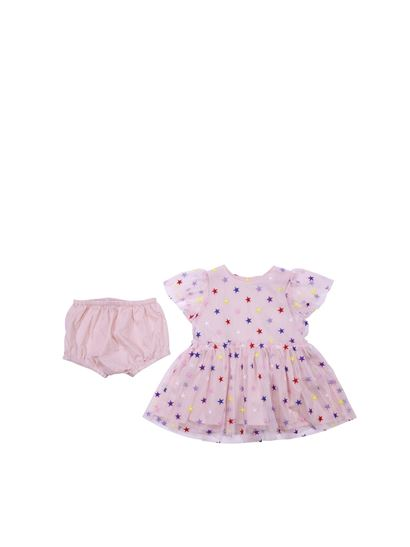 48a69babb Stella McCartney Kids Spring Summer 2019 pink tulle dress with ...