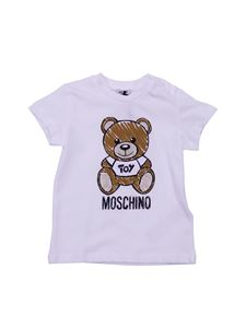 Moschino Kids - T-shirt Moschino Toy in cotone bianco