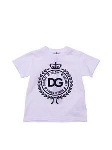 Dolce & Gabbana Jr - DGLove printed t-shirt in white