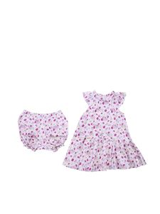 Baby Dior - Floral dress with panties