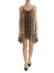 Moschino Boutique - Pure animal print silk dress