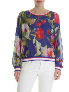 Blugirl - Bluette blouse with floral print