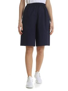 Fay - Blue oversized shorts with Fay logo