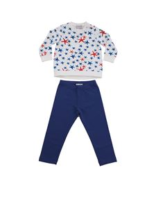 Moncler Jr - Tracksuit with starfish print