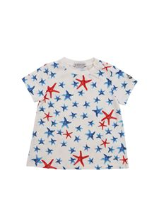 Moncler Jr - Moncler Jr T-shirt with starfish pattern