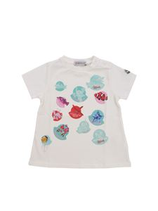 Moncler Jr - Moncler Jr t-shirt with aquarium motif