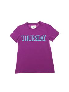 Alberta Ferretti - Thursday purple t-shirt