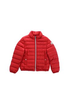 Moncler Jr - Tarn down jacket in red