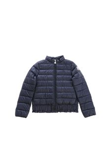Moncler Jr - Abricot blue down jacket