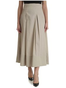 Ballantyne - Beige pleated skirt
