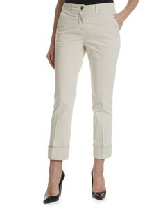 Fay - Classic cream colored trousers