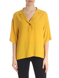Fay - Oversize ocher yellow blouse