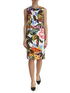 Blugirl - White floral printed dress