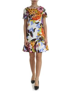 Blugirl - Floral dress with ruffle on the bottom