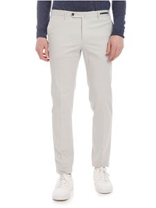 PT01 - Super slim gray stretch cotton trousers