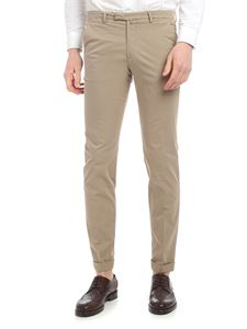 Briglia 1949 - Dark beige cotton trousers