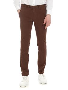Briglia 1949 - Brown cotton trousers