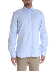 Fay - Light blue shirt in cotton