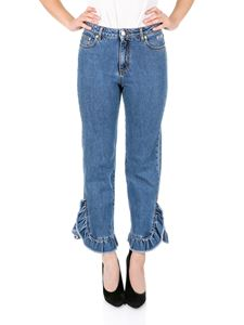 MSGM - Ruffled jeans