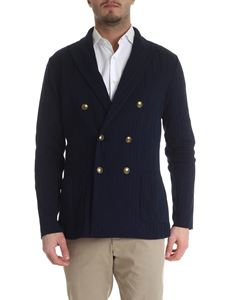 Lardini - Lardini double-breasted cardigan-jacket