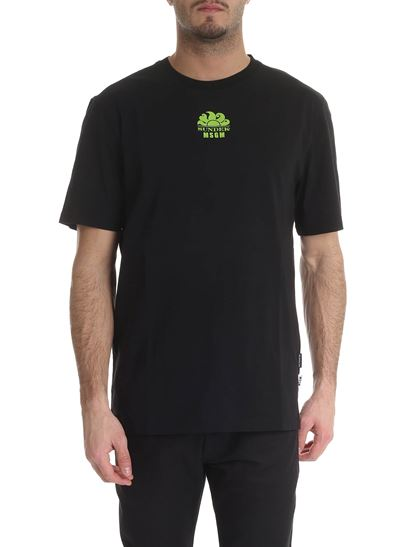 MSGM - Sundeck Msgm crew neck t-shirt in black